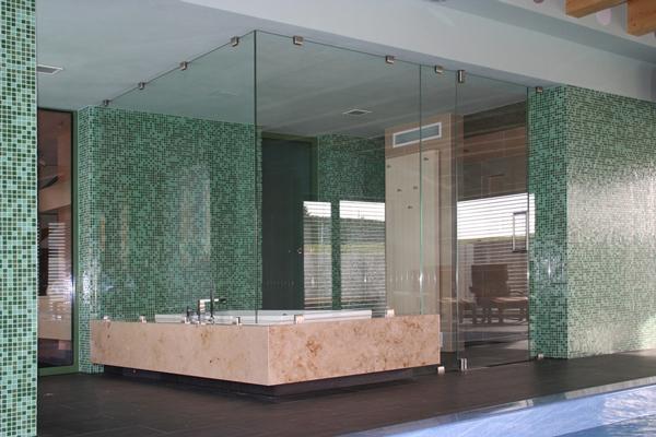private schwimmhalle neubau bauen im bestand. Black Bedroom Furniture Sets. Home Design Ideas